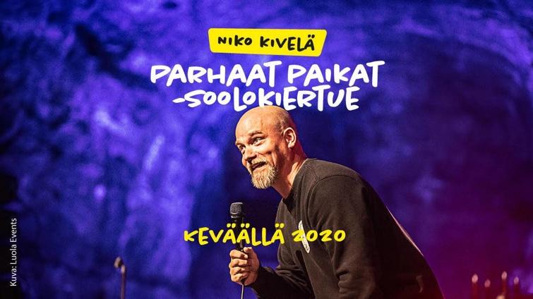 PERUTTU: Niko Kivelä – Parhaat paikat -soolokiertue